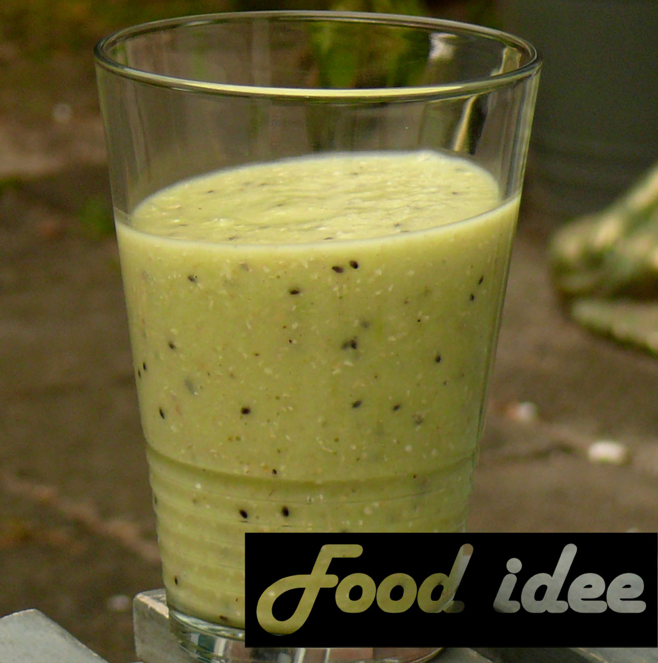 Havermout kiwi smoothie