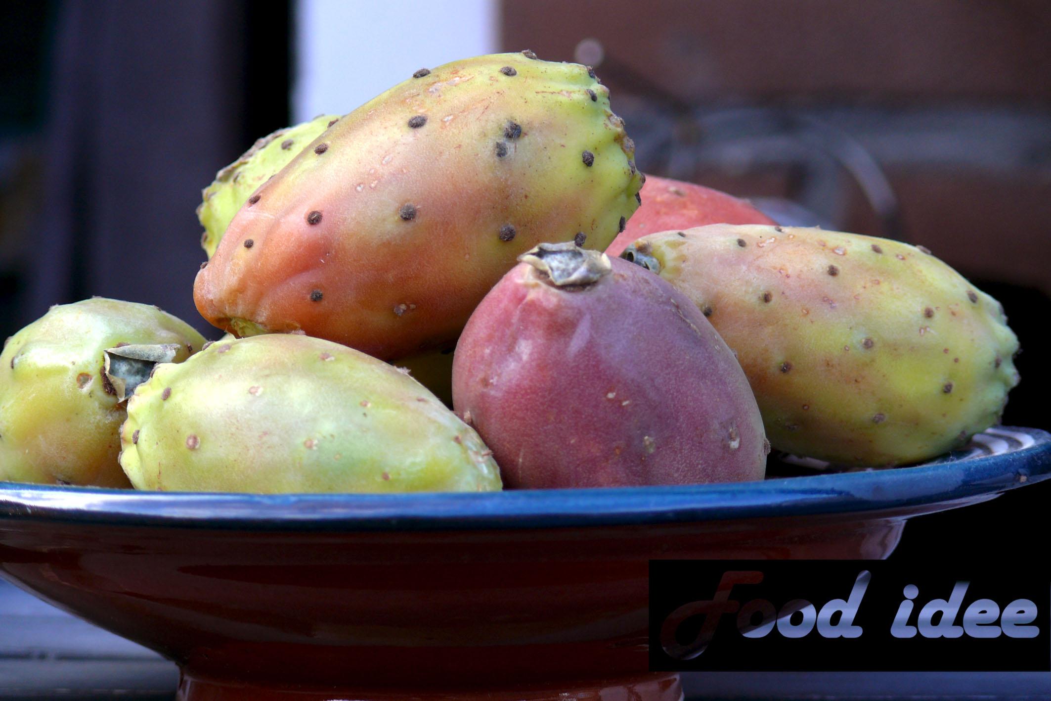 Cactusvijg: exotisch fruit