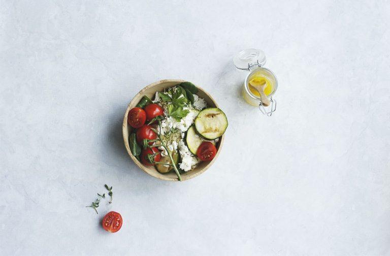 Quinoa salade met geitenkaas