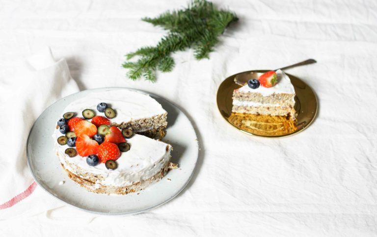 Gezonde taart maken - zonder suiker en lactose