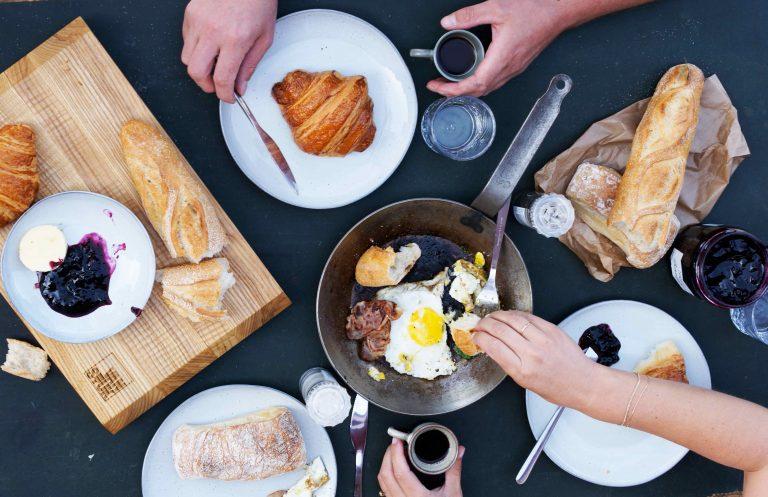 Lekker eten doe je met je handen
